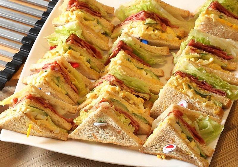 培根蔬菜蛋沙拉總匯