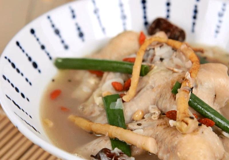 蔘雞湯拉麵(影片)