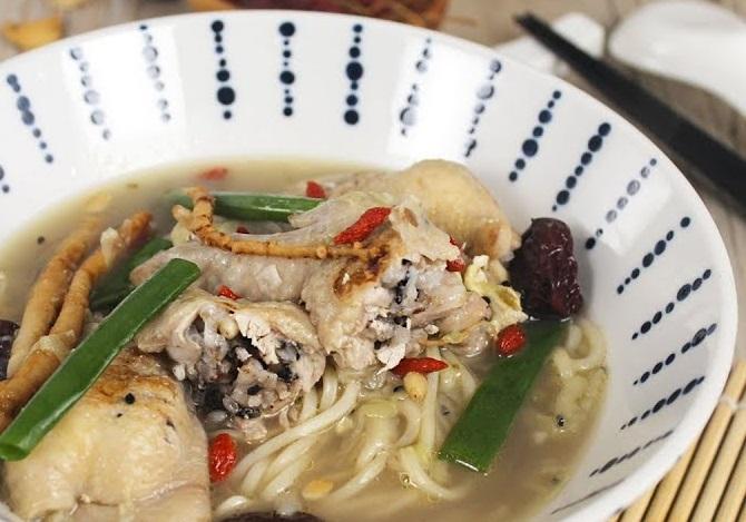孤獨的美食家·蔘雞湯拉麵 (影片)