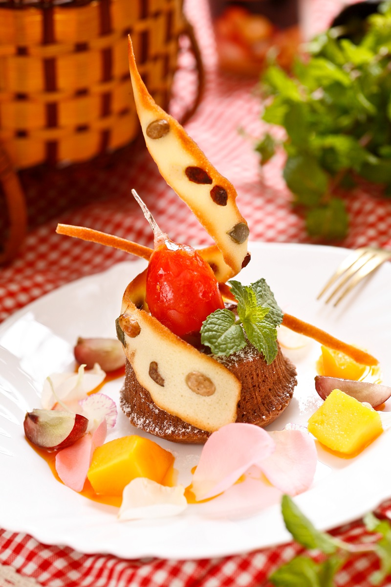 熔岩巧克力鬆糕