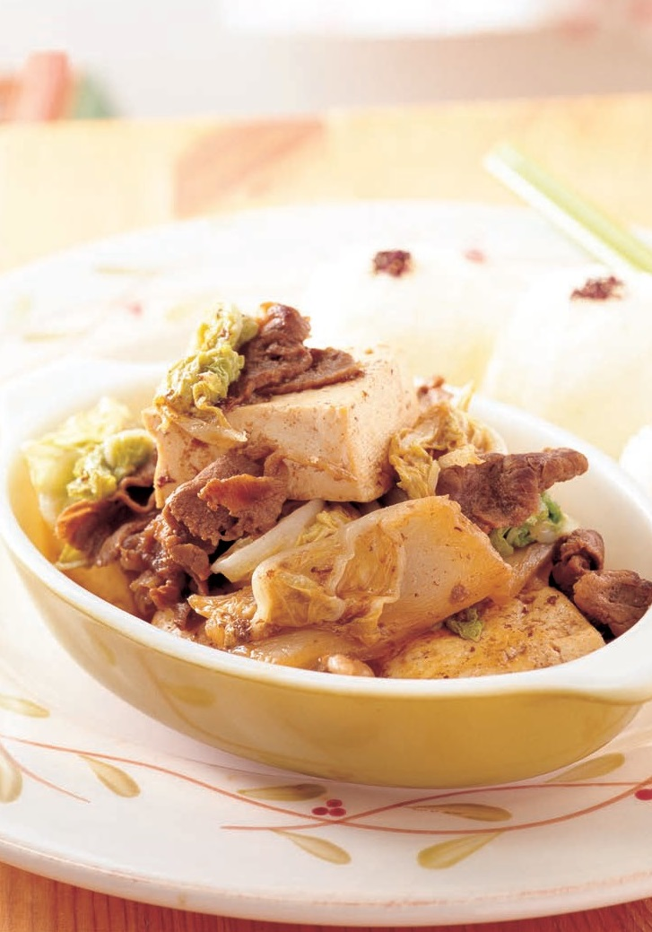 牛肉燒豆腐