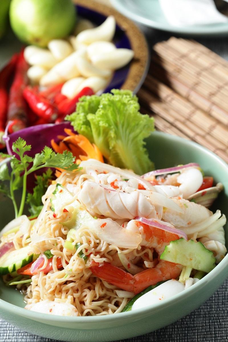 泰式海鮮拌泡麵