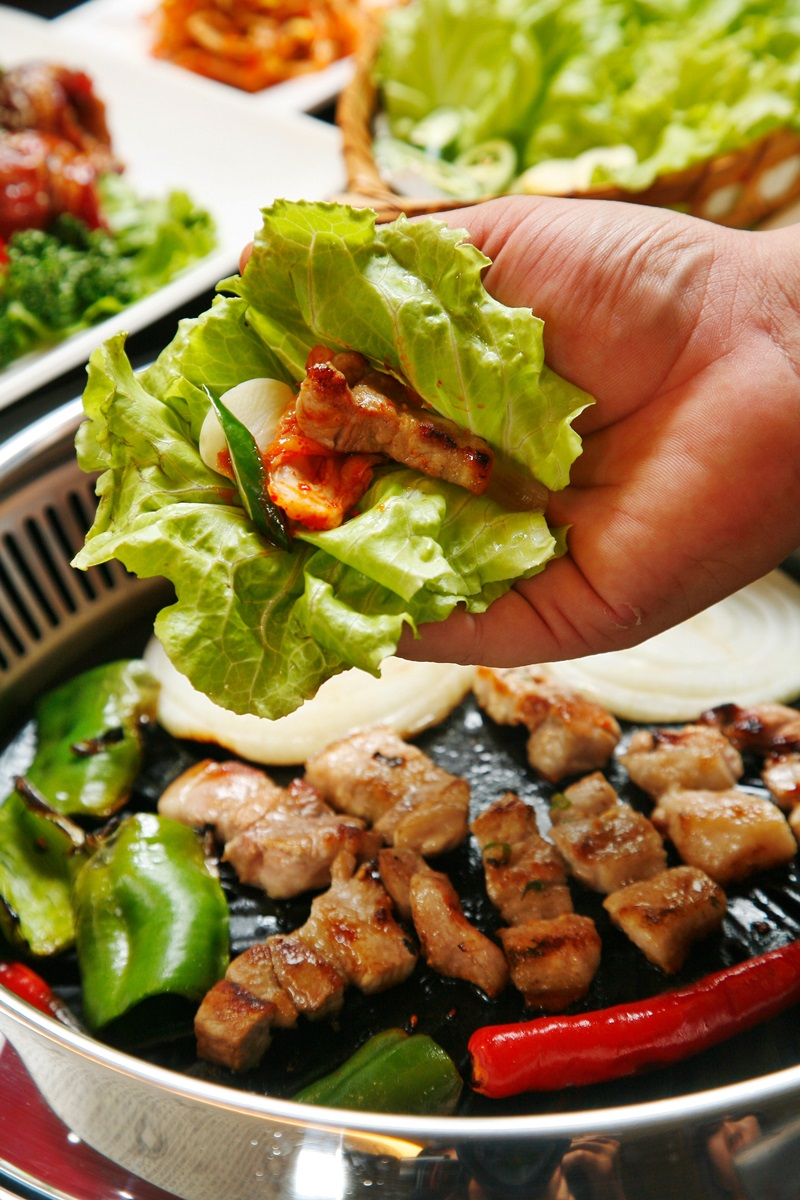 韓式生菜包嫩肉