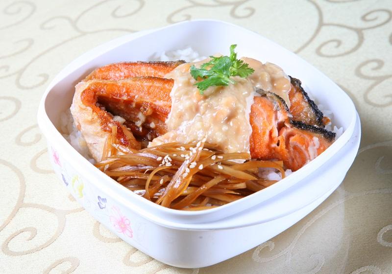味噌鮭魚排