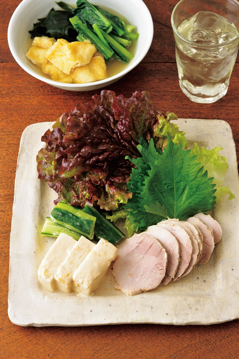 低醣料理 ▪ 味噌漬水煮豬肉與豆腐