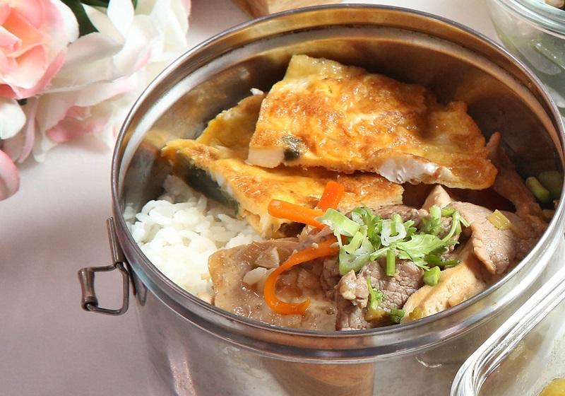 肉片燒豆腐