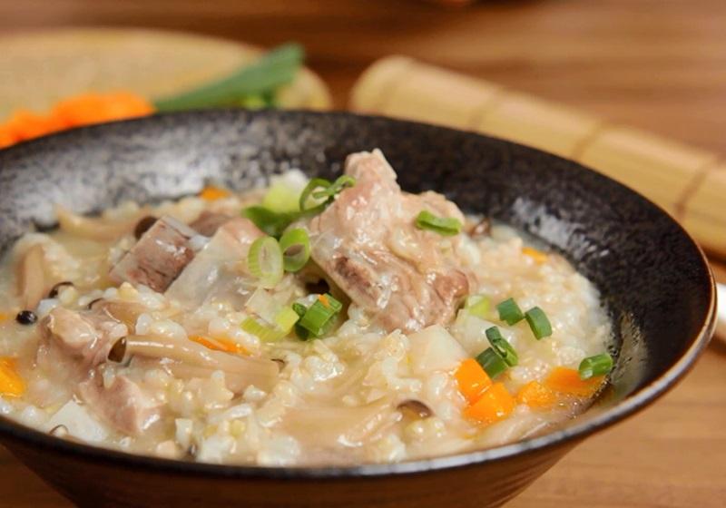 強身糙米排骨粥 (影音)