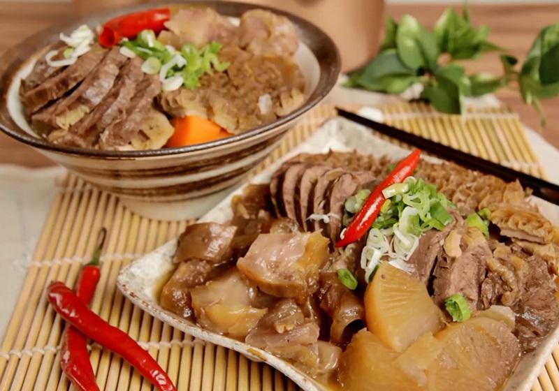 三寶滷牛肉 (影片)