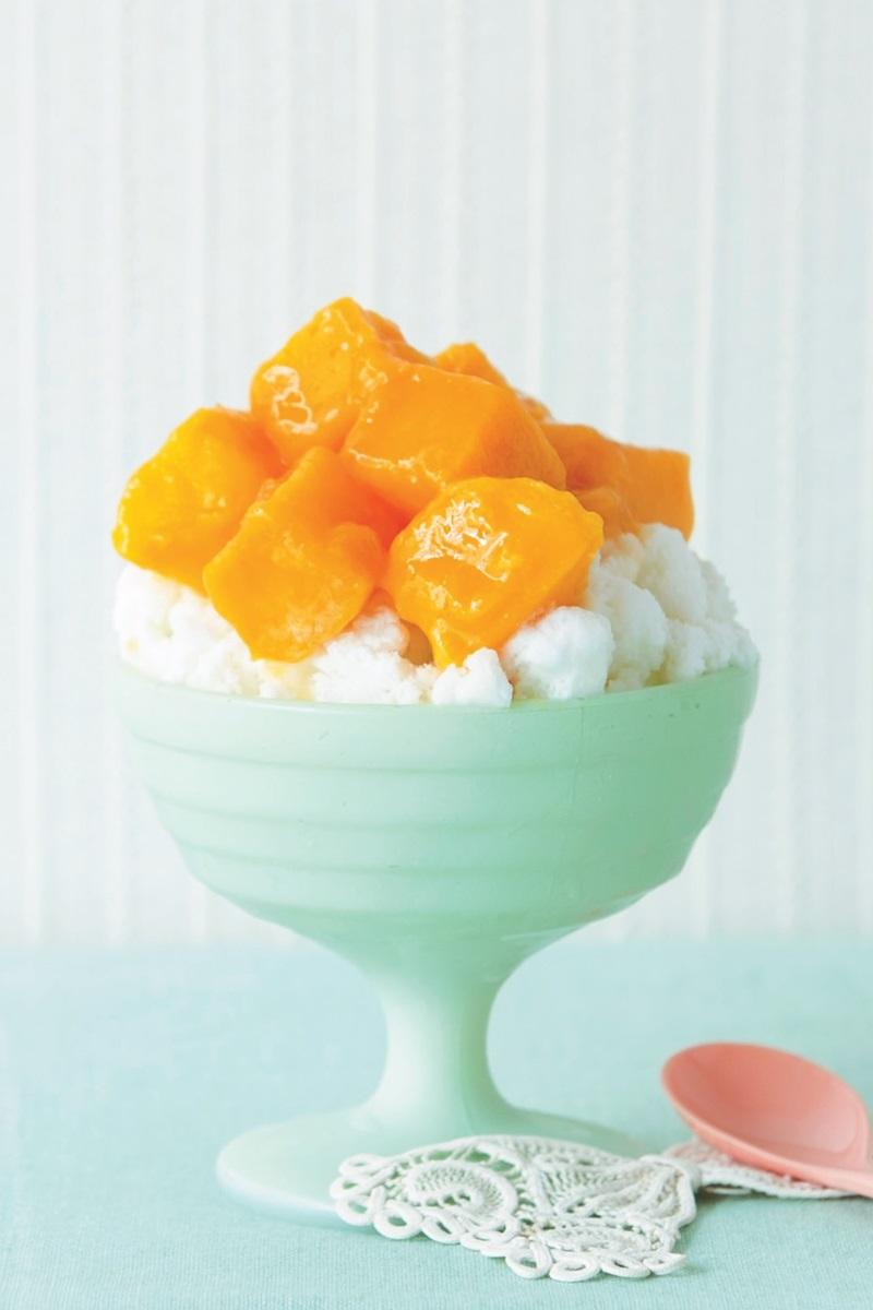 芒果椰子冰
