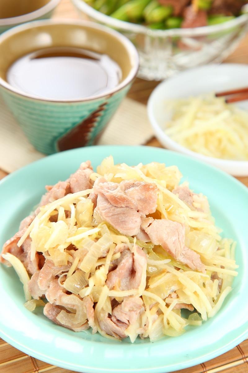 日式薑燒梅花肉