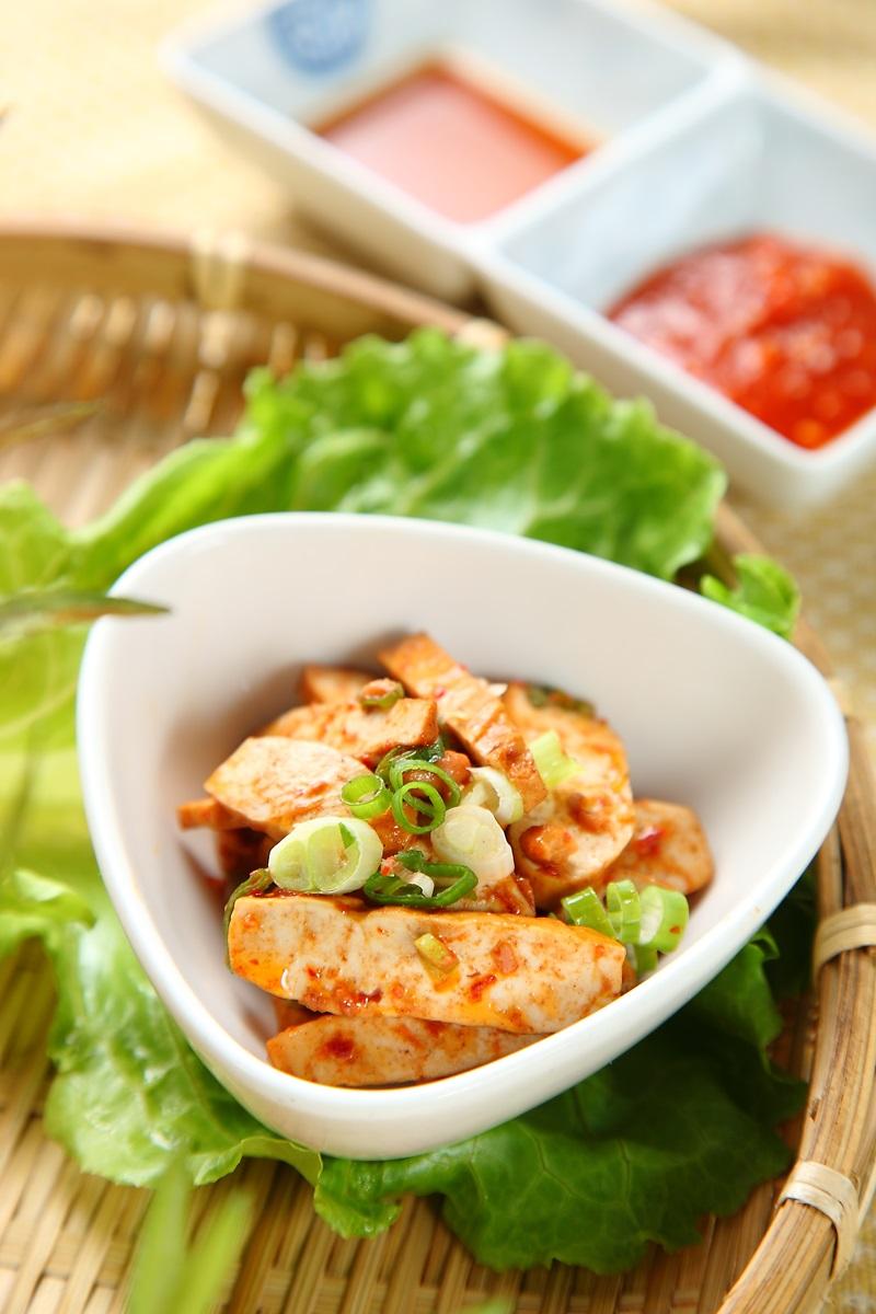 韓式辣味豆干