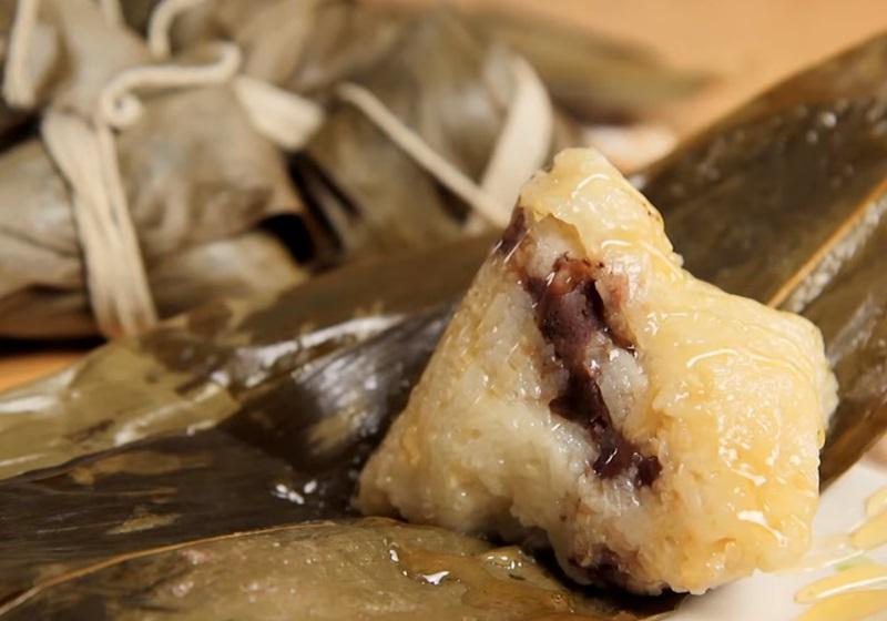 日出豆沙甜粽 (影音)