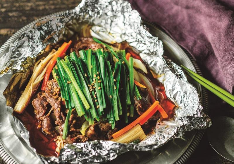 紙包食譜 · 韓式烤肉