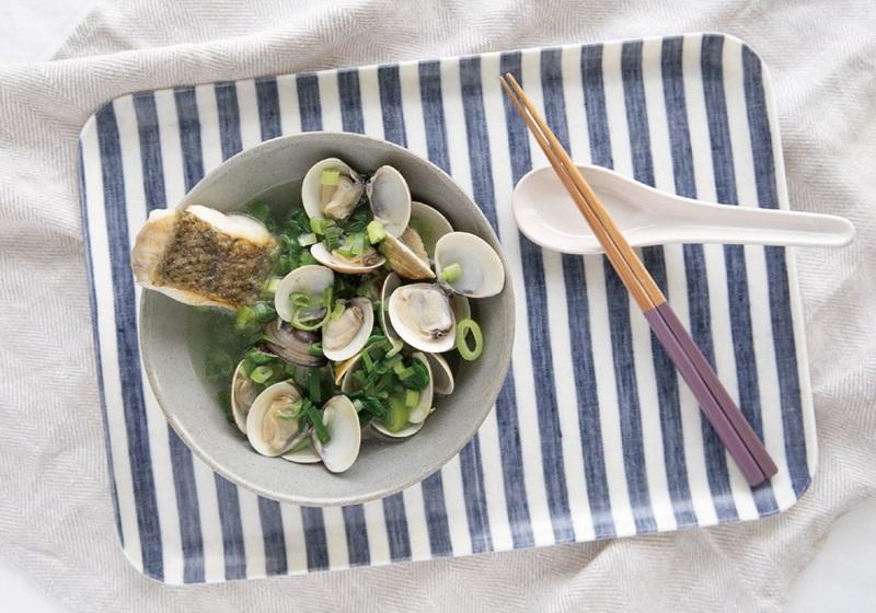 低醣料理 ▪ 青蒜鱸魚湯