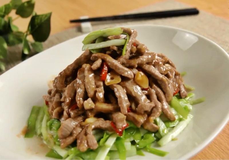 韭黃炒牛肉