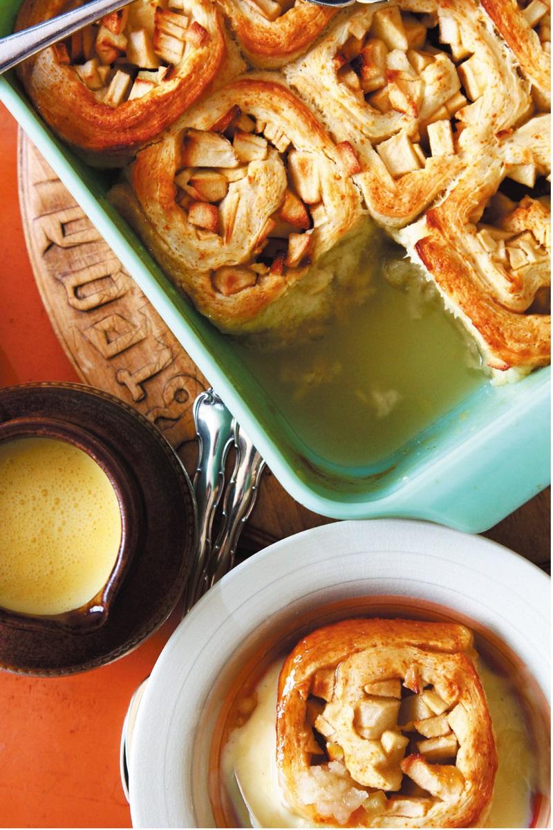 英式甜點 | 司康蘋果捲