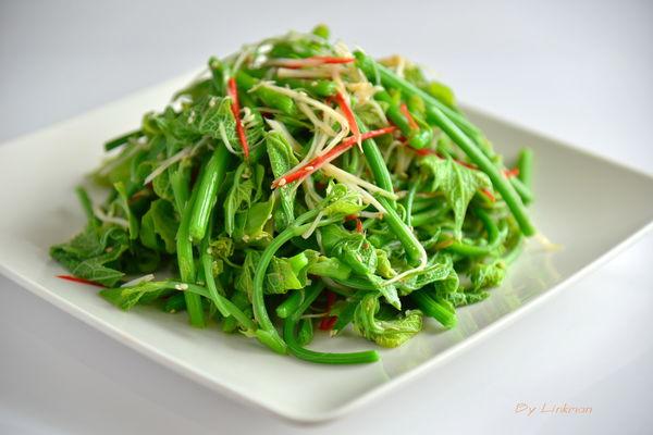 麻油涼拌龍鬚菜