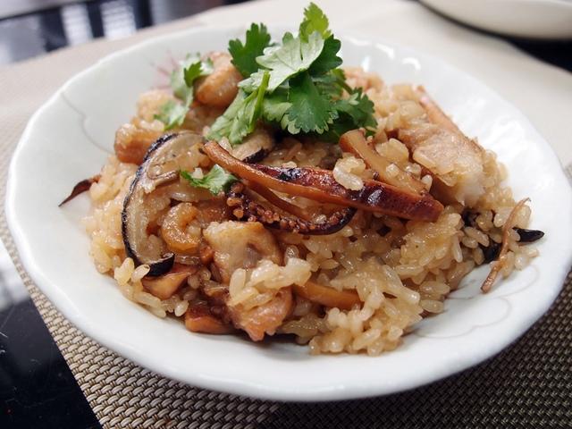三種米古早味油飯