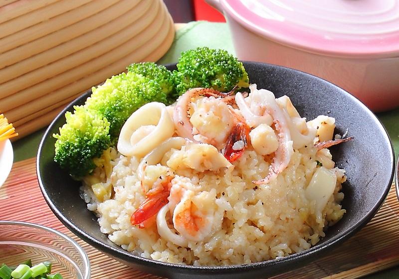 一鍋到底 | 干貝海鮮燉飯