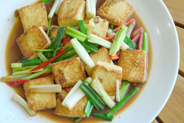 半煎煮雞蛋豆腐