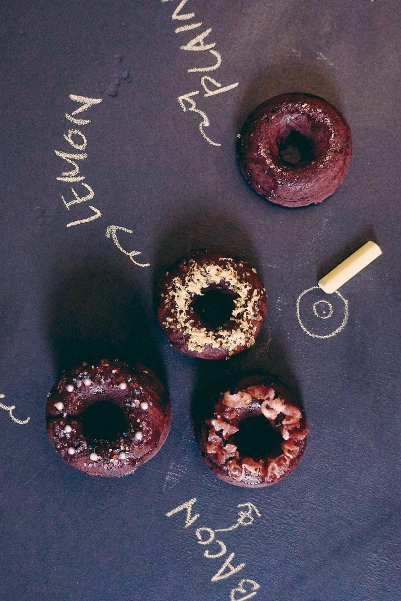 低醣甜點 | 椰香紅絲絨甜甜圈