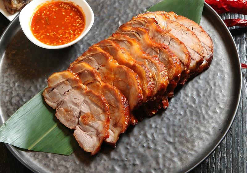 韓式辣醬烤豬梅花