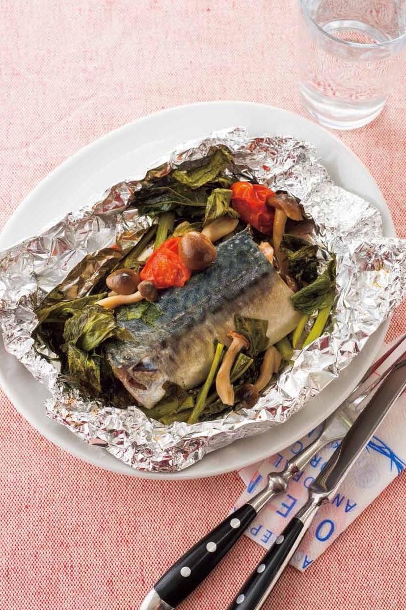 生酮食譜   香烤鹽麴鯖魚