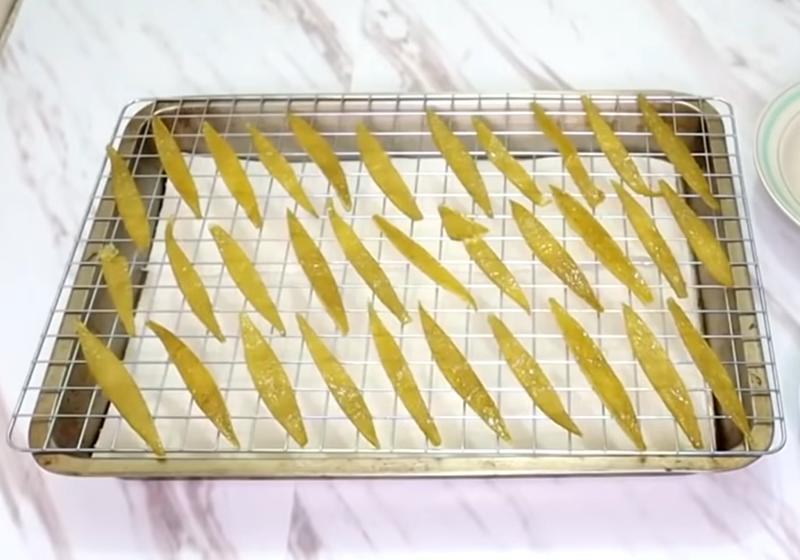 糖渍柚子皮的做法 化果皮为甜蜜