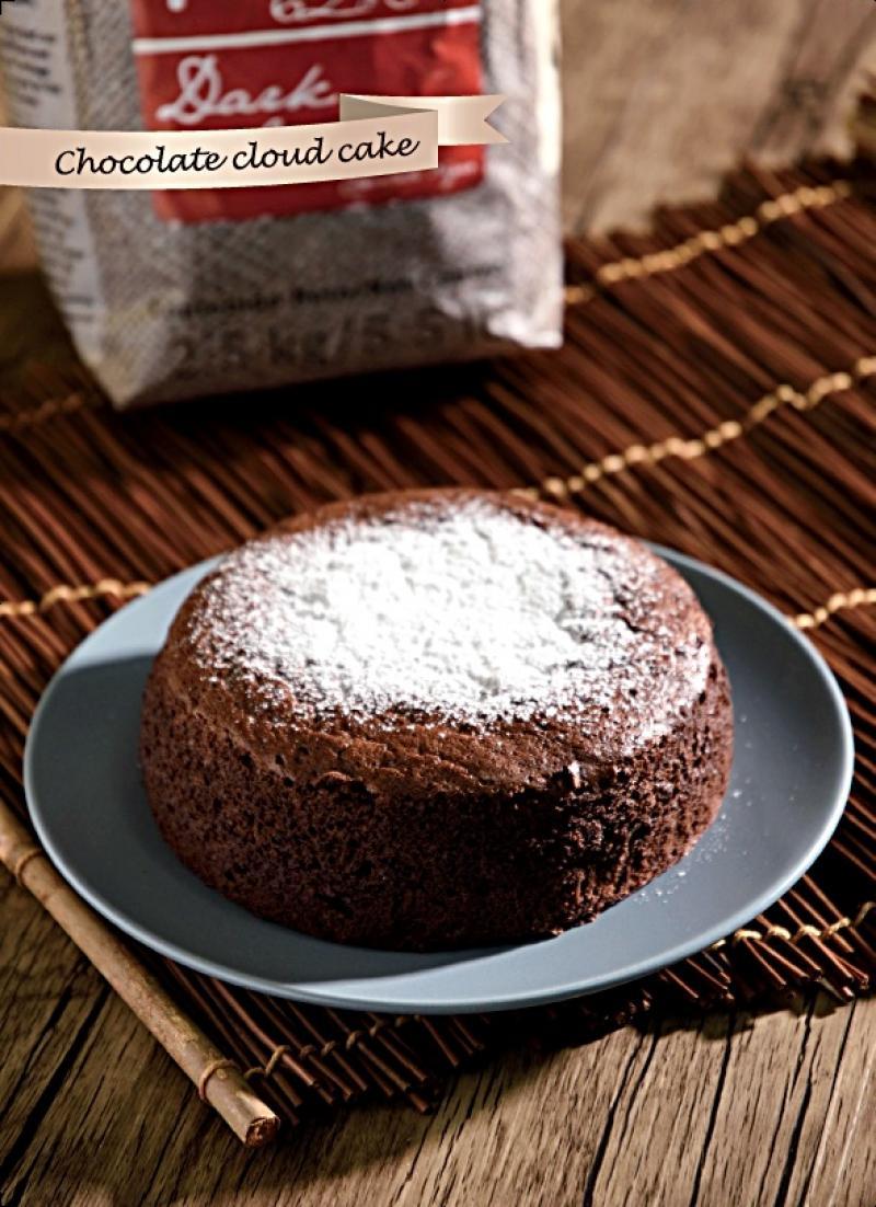 幸福甜點 │ 雲朵巧克力蛋糕