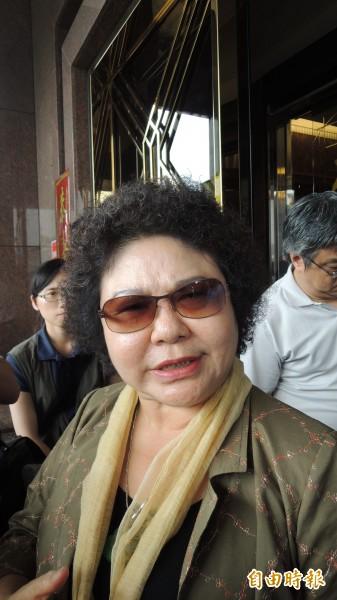 針對張志軍訪問高雄市發生流血事件,陳菊今天表示:警方若執法過當,她要求追究責任。(記者丁偉杰攝)