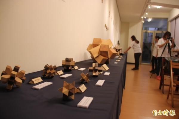 獨樹一格工藝展,傳遞在地文創精神。 (記者黃文鍠攝)