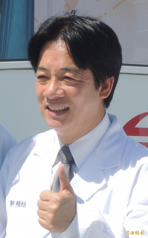 市長賴清德大力促成華航開通台南與日本大阪直航固定航班。(記者洪瑞琴攝)