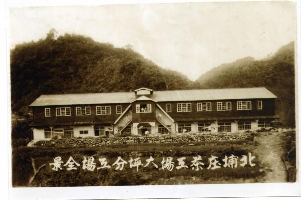 有員工熱心送來3張大坪茶廠的老照片。(廖惠慶提供)