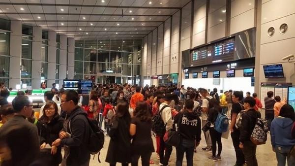 高鐵雲林站旅客數超乎原先預期,3新站中人數最多。(雲林縣政府提供)