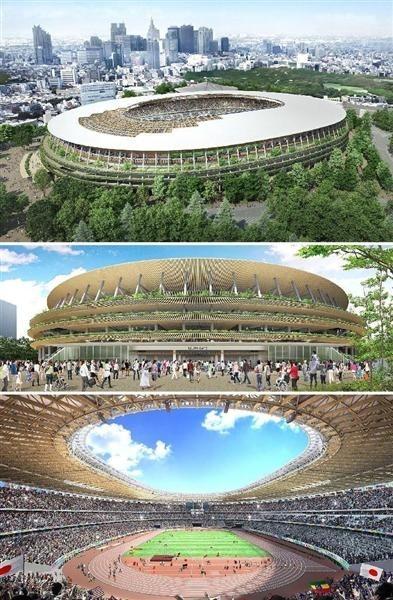 日本內閣會議通過東京奧運主會場設計圖