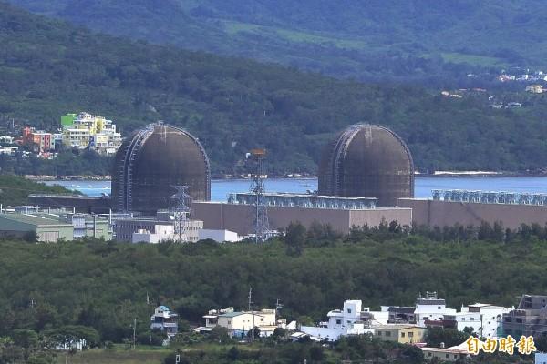 核三廠正常發電中。(記者蔡宗憲攝)