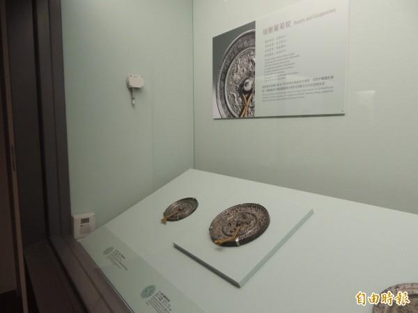 故宮青銅器文物濕度超標,故宮硬扯還在標準內。(記者楊媛婷攝)