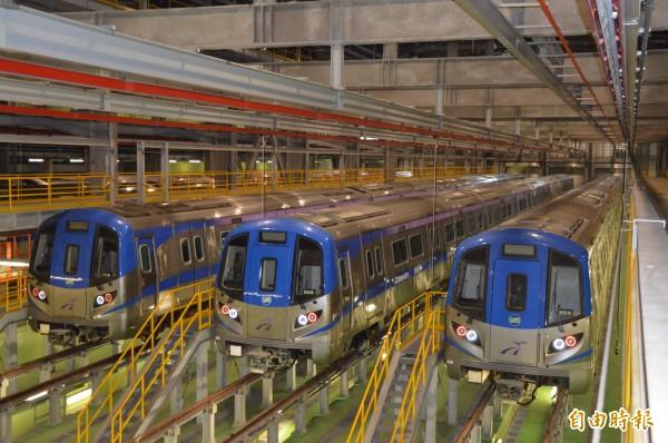 綠線捷運是地方殷殷期盼重大建設,未來也可連接機場捷運,圖為桃捷公司保修廠。(記者謝武雄攝)
