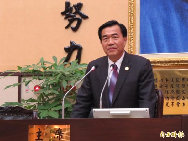 李全教表示,賴清德公開說他在議長選舉買票將提告。(資料照,記者蔡文居攝)