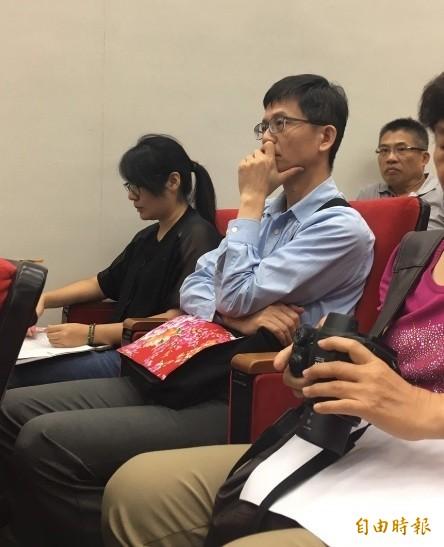 現任環保署長詹順貴也到參與。(記者蕭婷方攝)