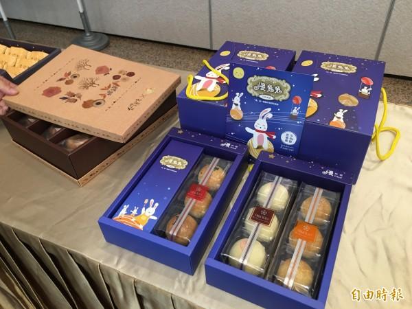 安心聯盟的社福單位自製食品,不但通過國家食品安全認證,包裝也是可愛吸引人。(記者陳炳宏攝)