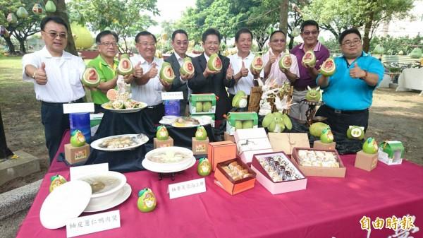 麻豆文旦節將在8月27日下午於麻豆公11公園登場。(記者楊金城攝)