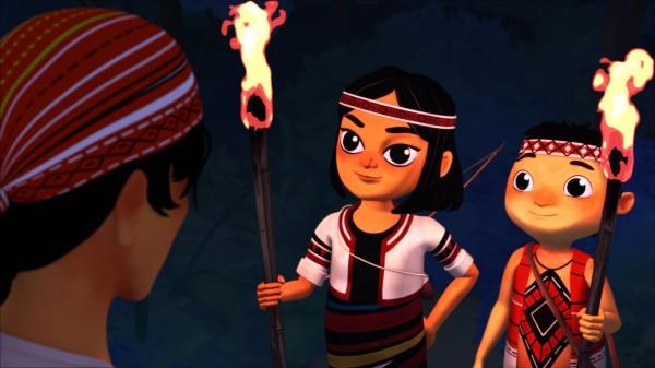 「吉娃斯愛科學」原住民動畫,雙入圍芝加哥和韓國的國際影展。(圖由清大提供)