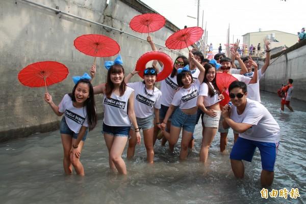 二水跑水節馬拉松有全國唯一的跑水賽道。