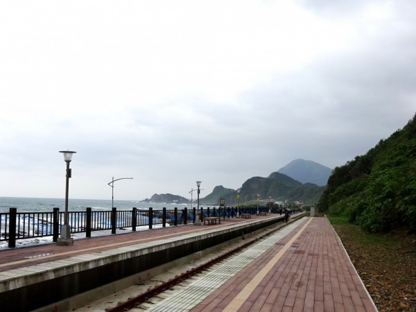 台鐵重建八斗子站,重現最美臨海線美譽(圖:台鐵局提供)