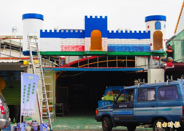 台東縣兒童發展療育中心利用原本為幼兒園的原址,做為未來服務的據點。(記者王秀亭攝)