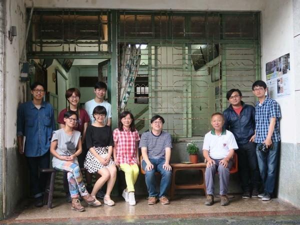 彭仁鴻與他的團隊伙伴。(彭仁鴻提供)