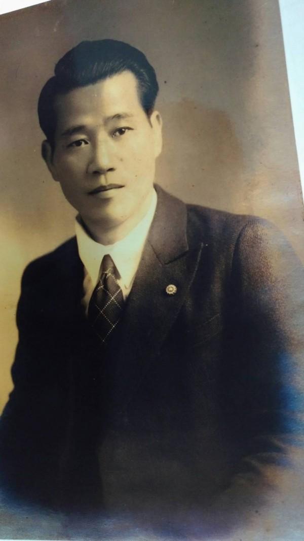 湯德章律師生前舊照片。(李文雄提供)