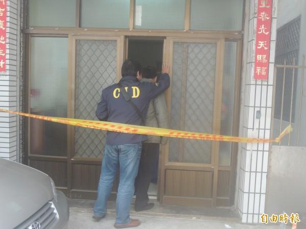 馬公密室燒炭案檢警連日追查,輪廓也逐漸浮現。(記者劉禹慶攝)