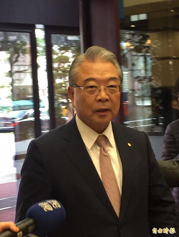 工總理事長許勝雄再度呼籲放寬加班工時。(記者林筑涵攝)